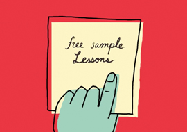 Sample a Lesson
